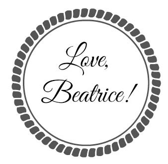 love beatrice beautyandatwist