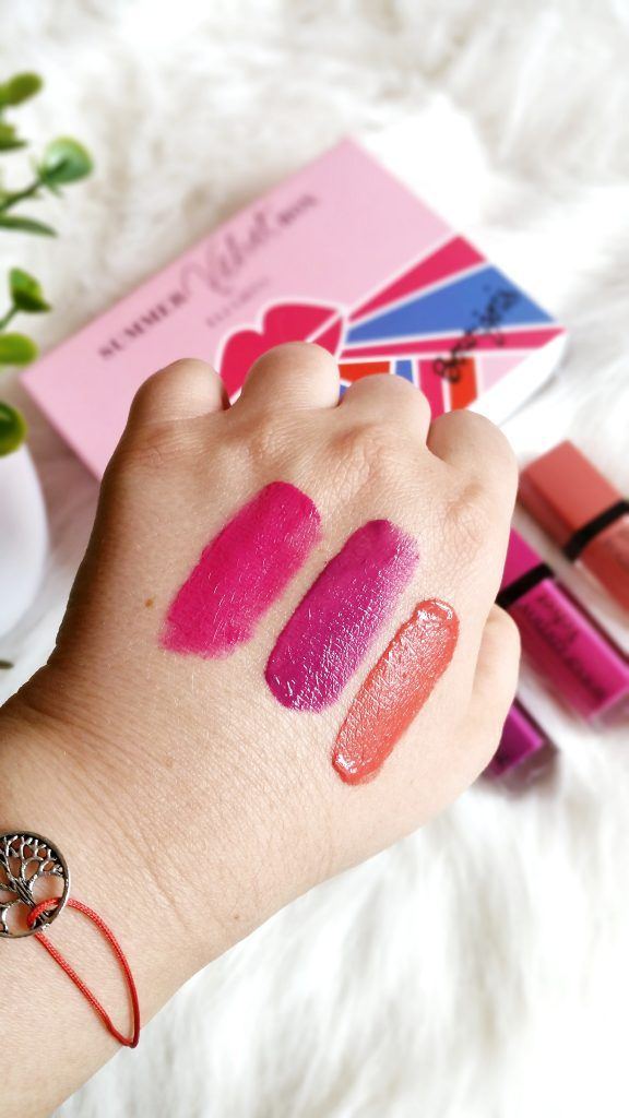 De sus in jos: Pink Pong, Saperliprunette, Abricoquette